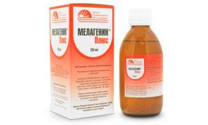 Лечение витилиго Мелагенином +